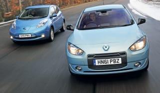 Renault Fluence Z.E. vs Nissan Leaf