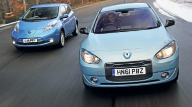 Renault Fluence Z.E. vs Nissan Leaf