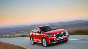 Audi Q2 red front