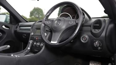 Used Mercedes SLK - dash