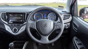 Suzuki Baleno SVHS mild hybrid - interior