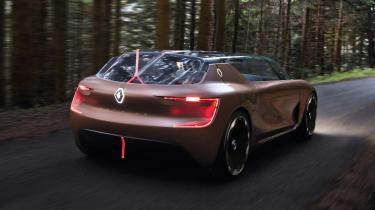 Renault Symbioz - rear action