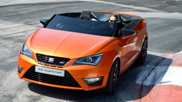 SEAT Ibiza Cupster concept front