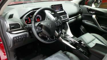 Mitsubishi Eclipse Cross SUV - Geneva interior