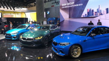 BMW Stand - LA Motor Show