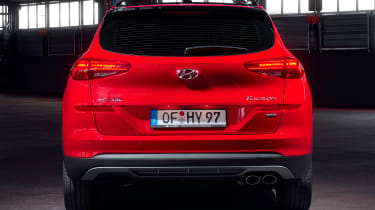 Hyundai Tucson N Line - rear static