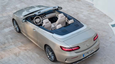 Mercedes E-Class Cabriolet 2017 - AMG Line overhead rear