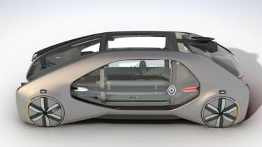 Renault EZ-GO concept - side static
