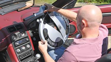 Steering lock