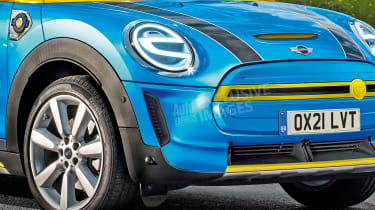 MINI baby SUV - front detail (watermarked)