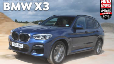 BMW X3 - 2018 Mid-size Premium SUV of the Year