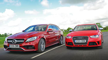 Mercedes-AMG C 63 Estate vs Audi RS4