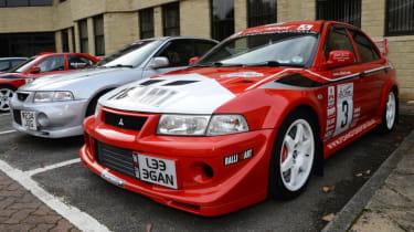 Mitsubishi's 100th year celebration - Tommi Makinen static