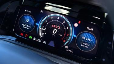 Volkswagen Golf GTI - Digital dials