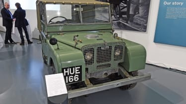British Motor Museum - Land Rover Series 1