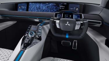 Mitsubishi e-Evolution concept - dash