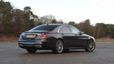 Mercedes S-Class - rear static
