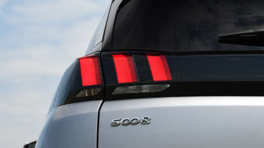 Peugeot 5008 - taillight