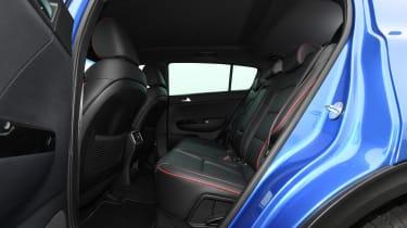 kia sportage 48v hybrid interior rear seats