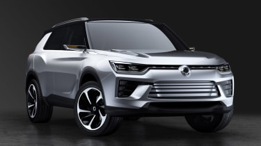 SsangYong SIV-2 - front static