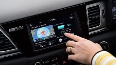 Kia e-Niro long termer - first report touchscreen