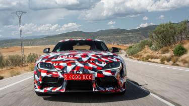 Toyota Supra prototype - full front