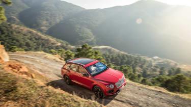 Bentley Bentayga luxury SUV offroad