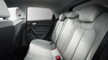 New Audi A1 - back seats