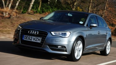 Audi A3 Sportback front tracking