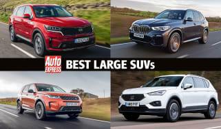 Best large SUVs on sale 2021