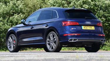 Audi SQ5 - static rear