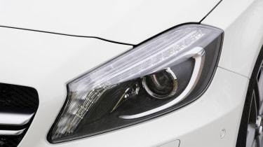 Mercedes A45 AMG headlight