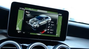 Mercedes-AMG C63 S - screen