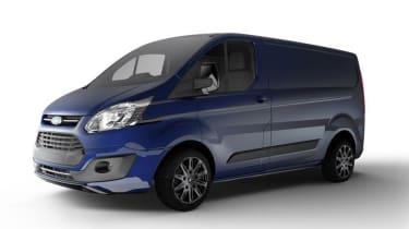 Ford Transit Custom Colour Edition - Deep Impact Blue