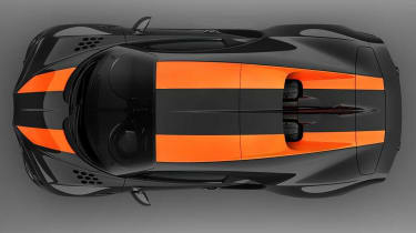 Bugatti Chiron Supersport 300+ - top