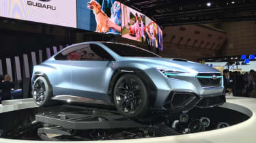 Subaru VIZIV Performance Concept - side/front