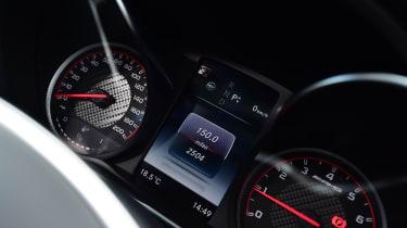 Mercedes-AMG C 63 S - speedo