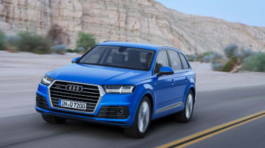 Audi Q7 2015 - front tracking