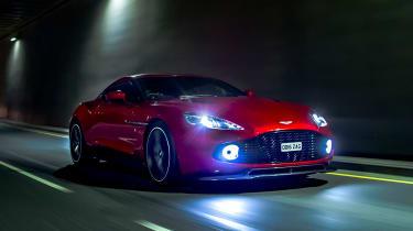 Aston Martin Vanquish Zagato - front tracking