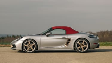 Porsche Boxster 25 Years - roof closed