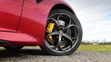Alfa Romeo Giulia Quadrifoglio - wheel