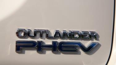 Mitsubishi Outlander PHEV - PHEV badge