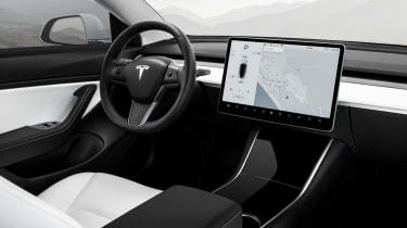 Tesla Model 3 Performance - dash