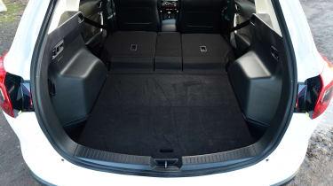 Mazda CX-5 - boot seats down