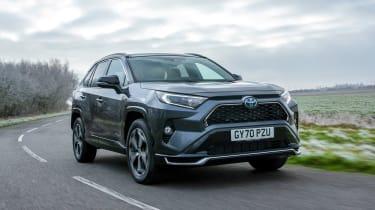Toyota RAV4 plug-in hybrid - front action