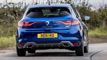 Renault Megane facelift - rear cornering