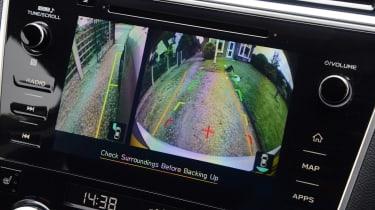 Subaru Outback - reversing camera
