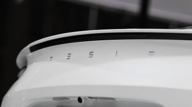 Tesla Roadster - tailgate