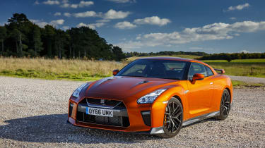 Nissan GT-R 2017 static front