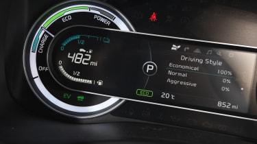 New Kia Niro '2' - dials